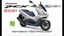 2021 new Honda PCX eHEV-Hybrid Japan all details photos