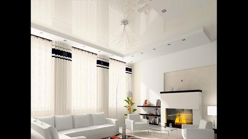 Как превратить недостатки помещения в достоинства с помощью натяжного потолка