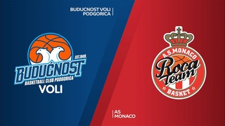 Buducnost VOLI Podgorica - AS Monaco Highlights   7DAYS EuroCup, Quarterfinals Game 2