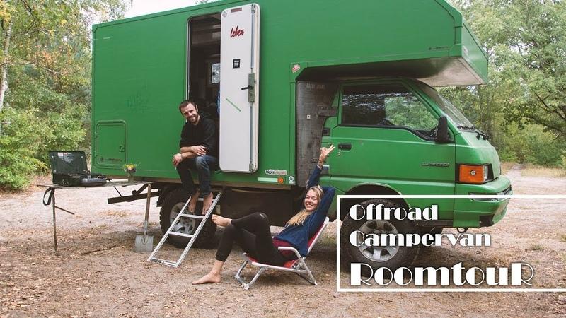 [ROOMTOUR 4x4 Offroad Campervan] 6 qm² Selbstbau-Traum-Zuhause auf Rädern