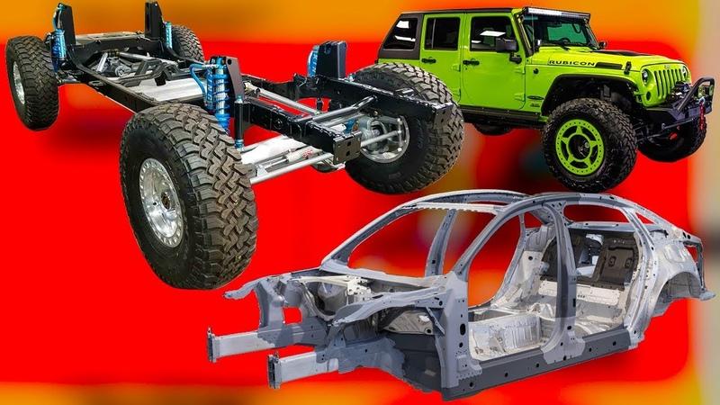Как держатся наши автомобили рама и несущий кузов почему сейчас не строят легковые авто на раме