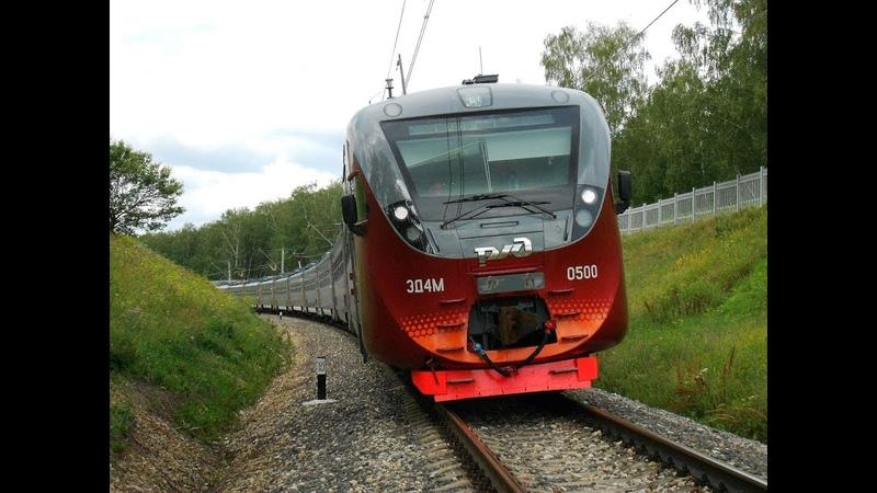 Trainz Simulator 2012 l ЭД4М-0500 l Мосты-Балезино l Ночной рейс