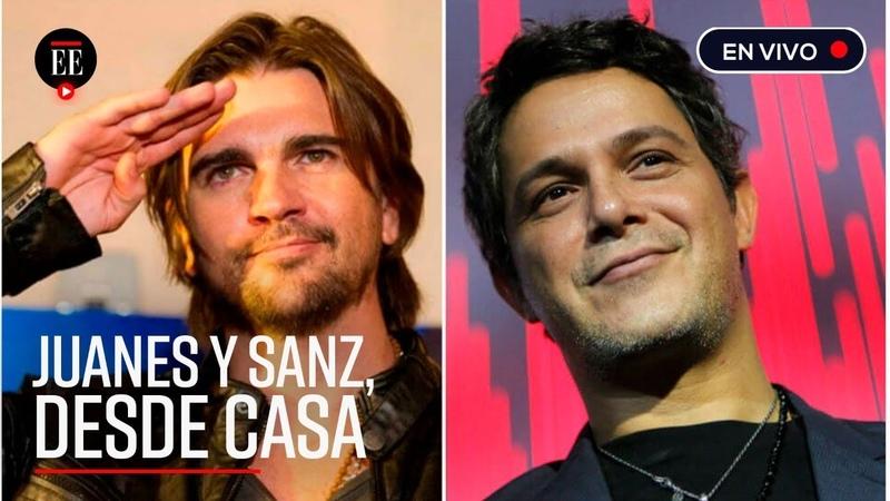 Juanes y Sanz le llevan el concierto a su casa ante el riesgo de COVID-19 - Noticias - El Espectador