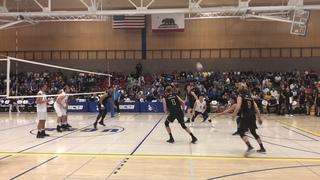 Long Beach vs UCSB Volleyball Highlights 2019