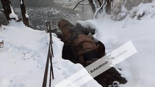 🔴Стерлитамак,слив непонятных отходов в реку Белая. Январь 2021 г.