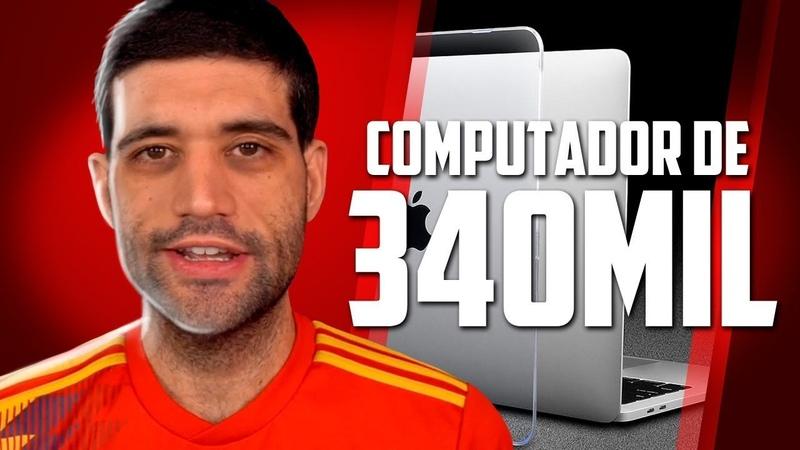 O computador de mais de 300 mil reais é muita insanidade