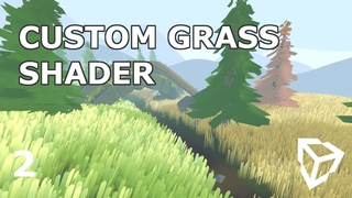 Stylized Geometry Grass Shader for Universal Render Pipeline Unity [Pt. 2]