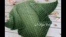 How to Crochet Lacy Shawl Crochet Video Tutorial Alize Angora Gold Yarn