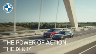 The Power of Action: Meet The First-Ever BMW iX & BMW i4 | BMW USA