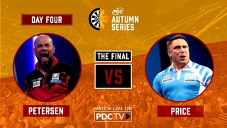 WHAT A FINAL! Petersen v Price | PDC Autumn Series Day Four
