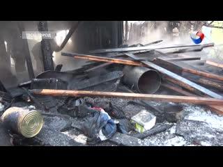 «На пожаре в Златоусте погиб мужчина, ещё одного жителя спасли огнеборцы»: Трагедия на улице Нижне-Тесьминская.