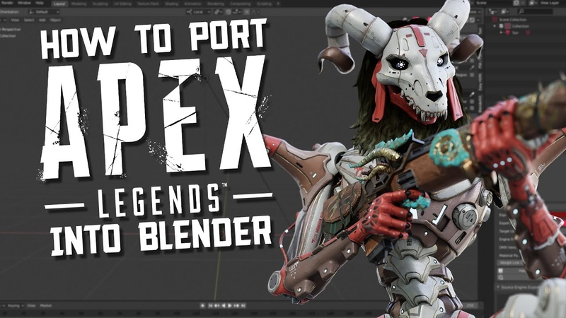 How To Port Apex Legends Models Into Blender (In-Depth Guide)