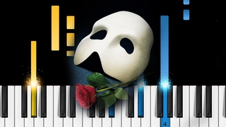 The Phantom of the Opera - Piano Tutorial & Sheets!