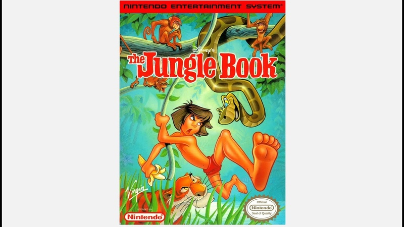 Disney's The Jungle Book NES обзор прохождение 4K Ultra HD