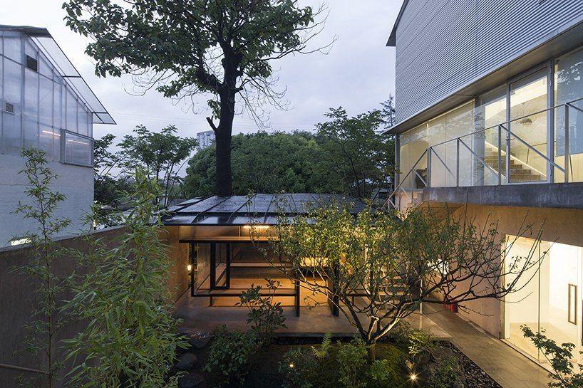 Чайный домик с садом в Шанхае / Atelier Deshaus