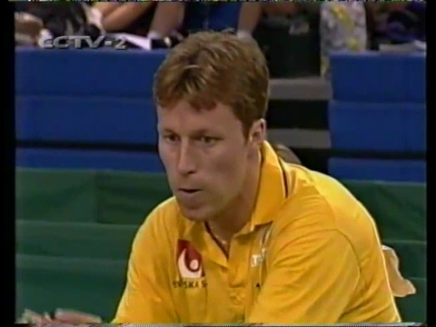 1999 WTTC (45th) MS-QF: Jan-Ove WALDNER Vs KONG Linghui [Full Match/Chinese|720p]
