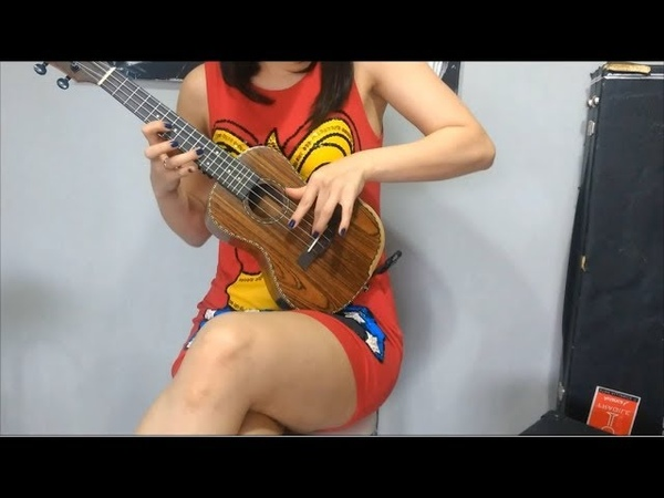 ACDC Back in Black Ukulele com DISTORÇÃO BY Overdriver Duo