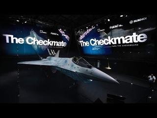 CHECKMATE СУ-75 - полная презентация Нового Самолета Невидимки 5го поколения от КБ Сухой