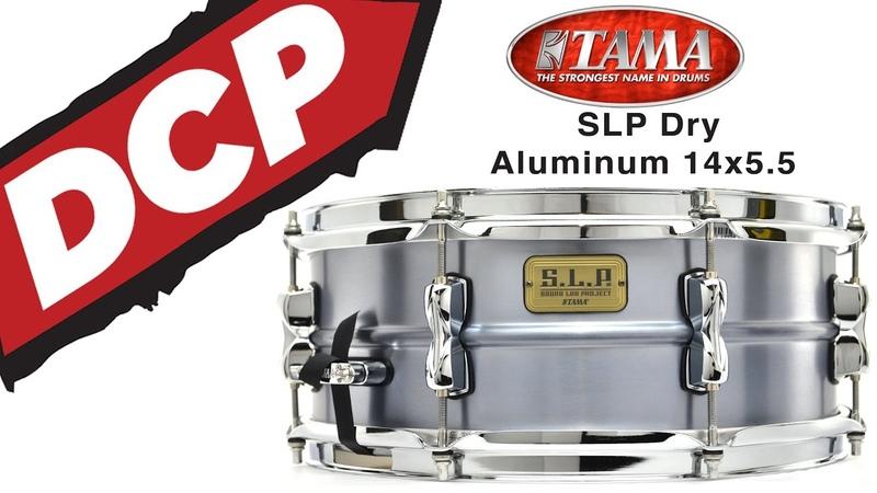 Tama SLP Classic Dry Aluminum Snare Drum 14x5.5 - Video Demo