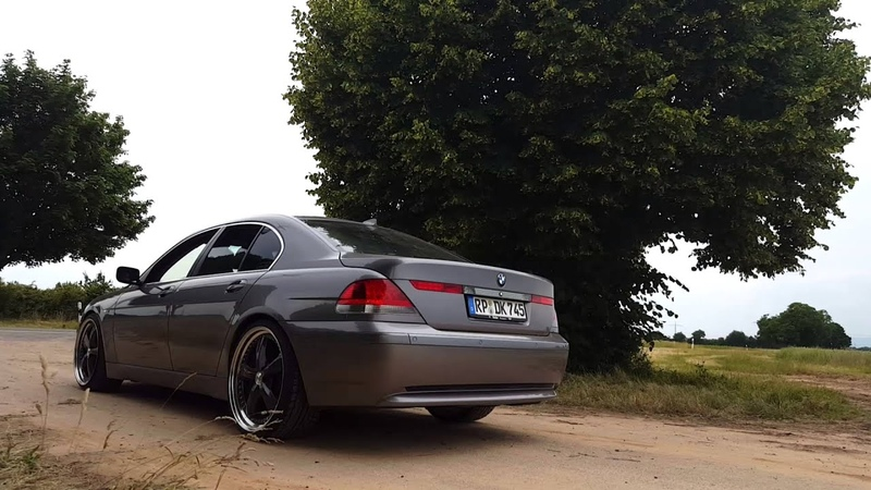 Bmw e65 745i 3 xpipe and magnaflow
