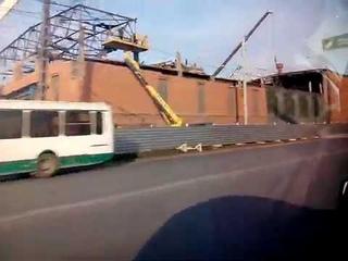 г.Челябинск Последствия падения метеорита.15 февраля 2013 года в Челябинске Цинковый завод.