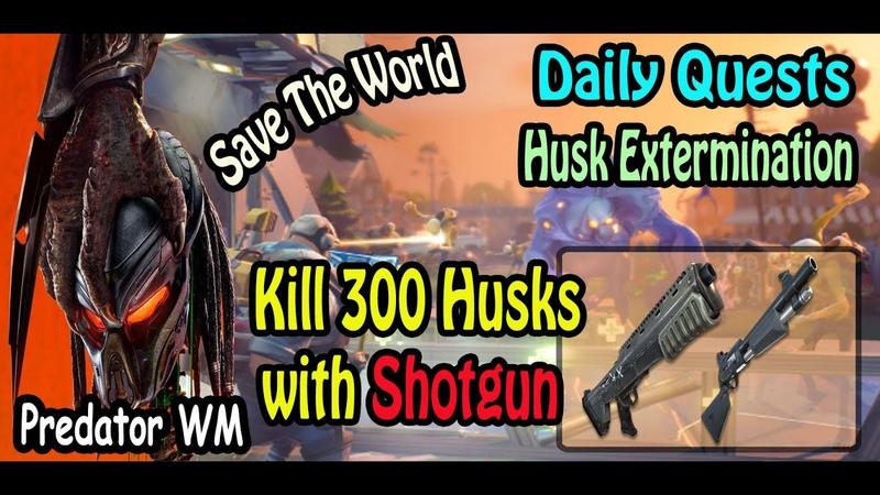 Kill 300 Husks with Shotgun in successful missions