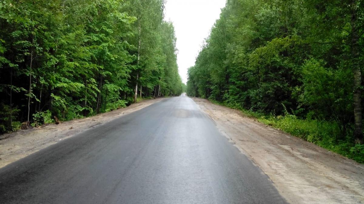 Завершен ремонт подъезда кдеревне Зубово вСеменове