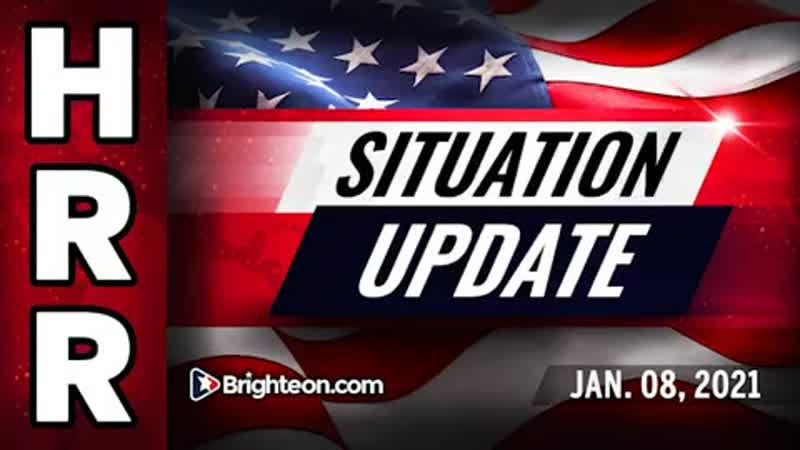 Situation Update Jan 8th Trump fighting from secure location did NOT concede
