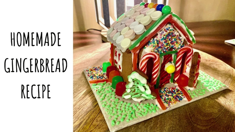 Gingerbread Recipe Gingerbread House Inspiration
