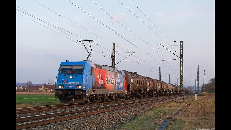 Vectron Überführung mit BR 143 Martin Luther LTE HVLE HSL uvm auf der Frankenwaldbahn Bamberg