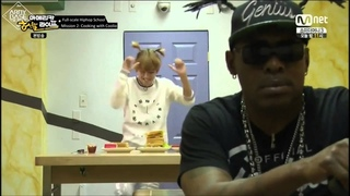 [Eng Sub] BTS Funny Moment: Rap Monster & V Cook For Coolio And Getting Chewed Out