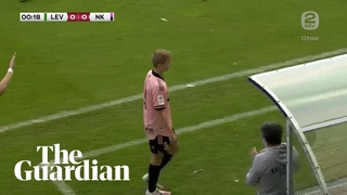 Player subbed after 13 seconds in Estonian Premier League match