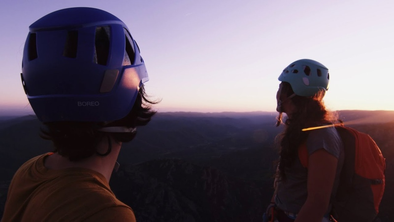 Outdoor adventures with Anna and Jules BOREO and BOREA - Petzl