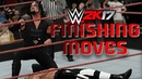 How to do finishing moves in WWE 2K17