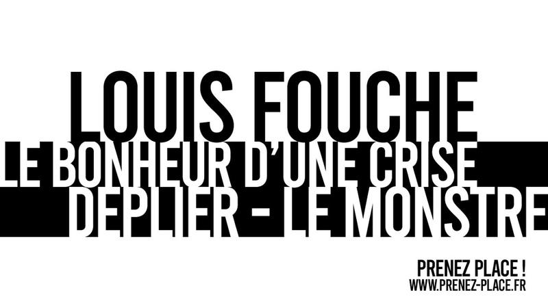 Louis Fouché ARCHIPEL 8 : Le bonheur d'une crise - DEPLIER LE MONSTRE