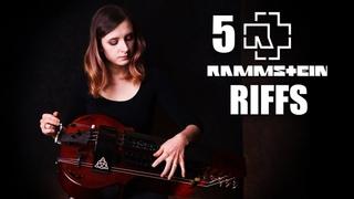 5 Rammstein riffs on hurdy gurdy