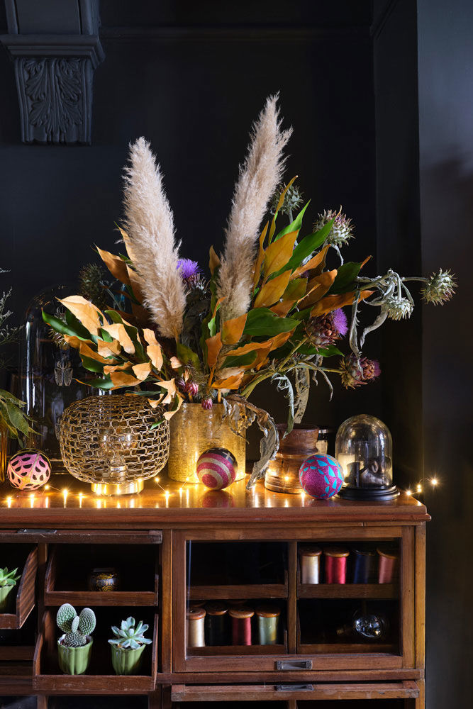 Удивительный Новый год: яркие и неожиданные идеи от Living Etc || 01