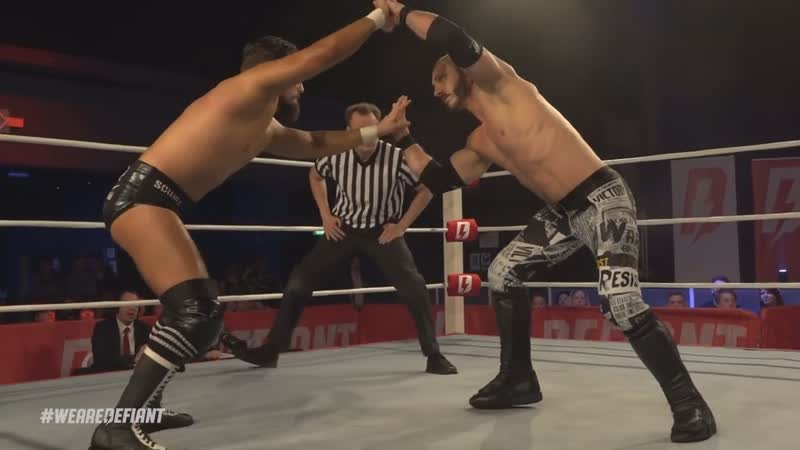 WCPW Defiant World Title Austin Aries vs Marty Scurll highlights