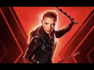 Use a mixed cilp to describe the Marvel movie career of Black Widow