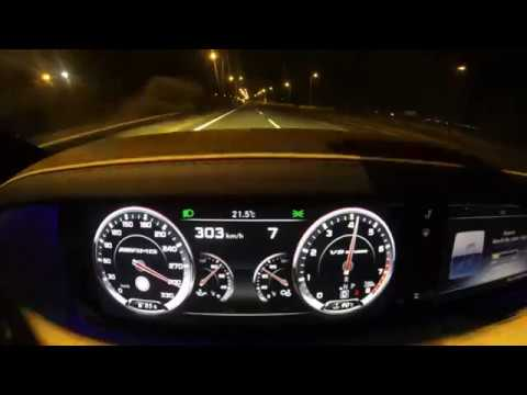 S63 AMG 0-310 TOP SPEED With Move on jabbar