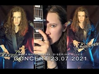 MARIA MARACHOWSKA - LIVE HD CONCERT - SIBERIAN BLUES -  - #music #concert