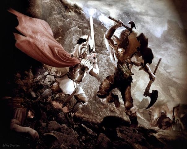 Основные варварские племена, которые противостояли Римской Империи.