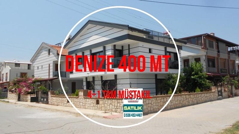 Didim'de Satılık Yazlık Villalar Müstakil Evler ve 400mt mesafede