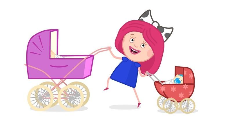 Smarta aprende a cuidar de los bebés Smarta y su bolso mágico Dibujos animados