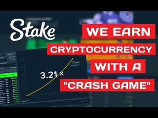 """✔️ RAISING THE BITCOIN RENCY WITH A """"CRASH GAME"""" ►  💰"""