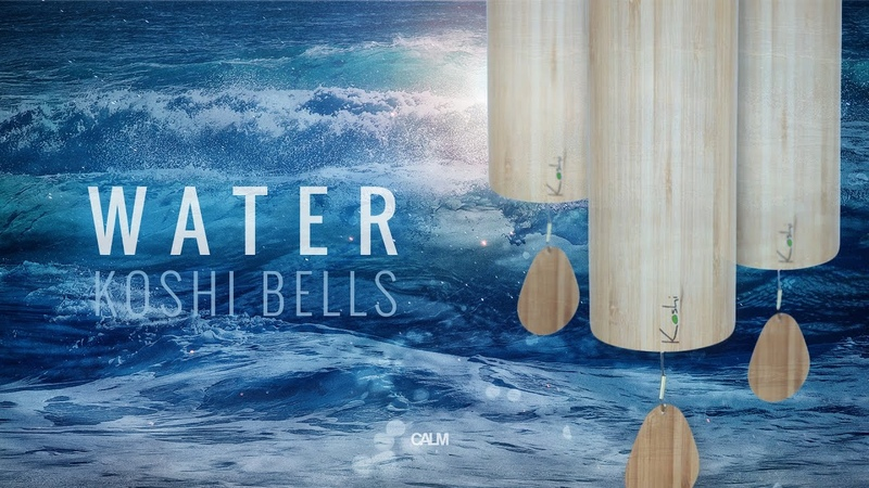 WATER Koshi Wind Chimes Meditation See the Ocean of oneness Calm Whale