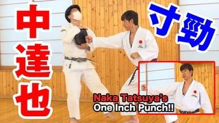 """【空手の近接打法""""寸打""""】鉄騎初段の浸透する拳 中達也師範 The fighting techniques of Karate at short range by Naka Tatsuya (JKA)"""