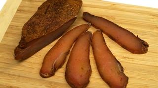 Hähnchenfilet Rezept für einen festlichen Tisch. getrocknetes Fleisch(BASTURMA) #21