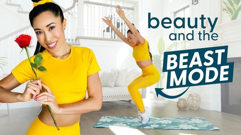 Тренировка Красавицы для всего тела Режим Чудовища вдохновленная Диснеем тренировка Belle's Beast Mode Bootcamp Disney Princess Total Body Workout