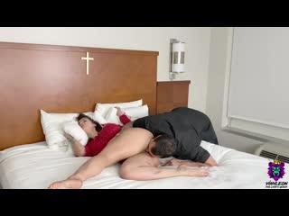 Муж изгнал беса и трахнул жену home sex game porn milf wife fit HD cum fuck tit boob pussy thick pawg curvy anal (Hot&Horny)